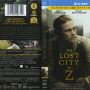 The Lost City Of Z (2016) R1 Blu-Ray Cover & Labels