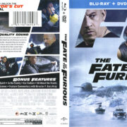 The Fate Of The Furious (2017) R1 Blu-Ray Cover & Labels