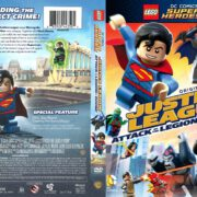 Lego Justice League: Attack of the Legion of Doom (2015) R1 DVD Cover