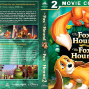 The Fox and the Hound Double Feature (1981-2006) R1 Custom Blu-Ray Cover