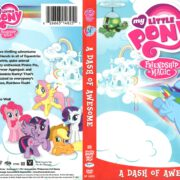 My Little Pony Friendship is Magic: A Dash of Awesome (2014) R1 DVD Cover
