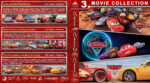 Cars Triple Feature (2006-2017) R1 Custom Blu-Ray Cover
