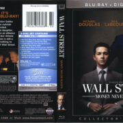 Wall Street: Money Never Sleeps (2010) R1 Blu-Ray Cover & Labels
