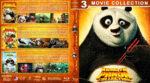 Kung Fu Panda Collection (2008-2016) R1 Custom Blu-Ray Cover