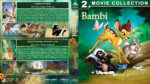 Bambi Double Feature (1942-2006) R1 Custom Blu-Ray Cover