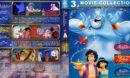 Aladdin Triple Feature (1992-1996) R1 Custom Blu-Ray Cover