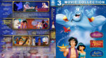 Aladdin Triple Feature (1992-1996) R1 Custom Blu-Ray Cover