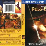Puss in Boots (2012) R1 Blu-Ray Cover