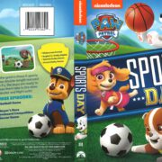 Paw Patrol: Sports Day (2016) R1 DVD Cover