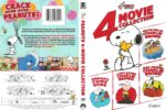 Peanuts 4-Movie Collection (2016) R1 DVD Cover