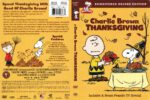 A Charlie Brown Thanksgiving (2008) R1 DVD Cover