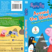 Peppa Pig: Around the World (2017) R1 DVD Cover