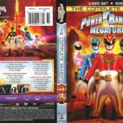Power Rangers Megaforce (2016) R1 DVD Cover