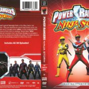 Power Rangers Ninja Storm Complete Series (2013) R1 DVD Cover