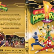 Mighty Morphin Power Rangers Season 1 Volume 2 (2012) R1 DVD Cover