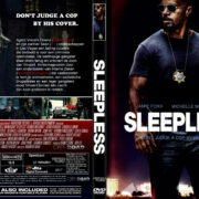 Sleepless (2017) DUTCH R2 CUSTOM Cover & Label