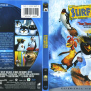 Surf's Up (2007) R1 Blu-Ray Cover & Label