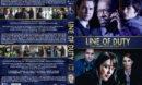 Line of Duty - Series 1 & 2 (2014) R1 Custom DVD Cover