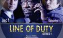 Line of Duty - Series 1 (2012) R1 Custom Labels