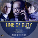 Line of Duty – Series 1 (2012) R1 Custom Labels