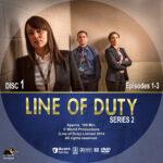 Line of Duty – Series 2 (2014) R1 Custom Labels