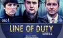 Line of Duty - Series 3 (2016) R1 Custom Labels