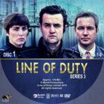 Line of Duty – Series 3 (2016) R1 Custom Labels