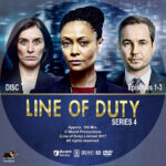 Line of Duty – Series 4 (2017) R1 Custom Labels