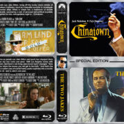 Chinatown / The Two Jakes Double Feature (1974-1990) R1 Custom Blu-Ray Cover