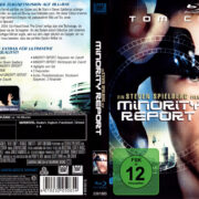 Minority Report (2002) R2 German Blu-Ray Covers