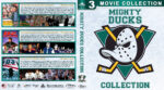Mighty Ducks Collection (1992-1996) R1 Custom Blu-Ray Cover