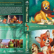The Fox and the Hound Double Feature (1981-2006) R1 Custom V2 Blu-Ray Cover