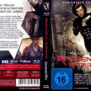 Resident Evil: Retribution (2012) R2 German Blu-Ray Cover