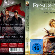 Resident Evil: The Final Chapter (2016) R2 German Blu-Ray Covers