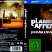 Planet der Affen: Prevolution (2011) R2 German Blu-Ray Covers