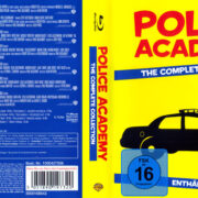 Police Academy Collection (2013) R2 German Blu-Ray Cover