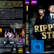 Ripper Street – Staffel 1 (2014) R2 German Blu-Ray Cover