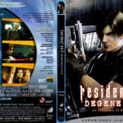 Resident Evil - Degeneration (2008) R2 German Blu-Ray Cover