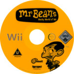Mr Bean's Wacky World of Wii (2009) Pal Label