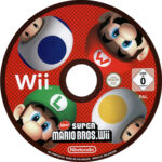 New Super Mario Brothers (2009) PAL Label