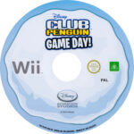 Club Penguin Game Day (2010) PAL Wii Label