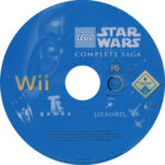 Lego Star Wars The Complete Saga (2007) PAL Label