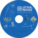 Lego Star Wars The Complete Saga (2007) PAL Label