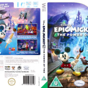 Epic Mickey 2 – The Power of Two (2012) Pal Wii Cover & Label