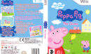 Peppa Pig: The Game (2009) Pal Wii DVD Cover & Label