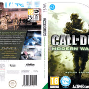 Call of Duty: Modern Warfare – Reflex (2009) Pal Wii DVD cover & label