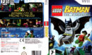 LEGO Batman: The Videogame (2008) Pal Wii DVD Cover & Label