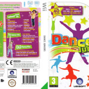 Dance Juniors (2011) Pal Wii DVD Cover & Label