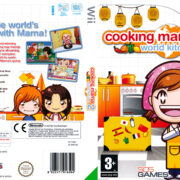 Cooking Mama 2: World Kitchen (2009) Pal Wii DVD Cover & Label