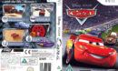 Cars (2006) Pal Wii DVD Cover & Label